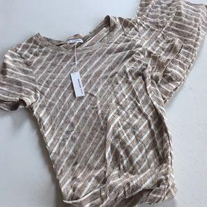 James Perse maxi shirt dress